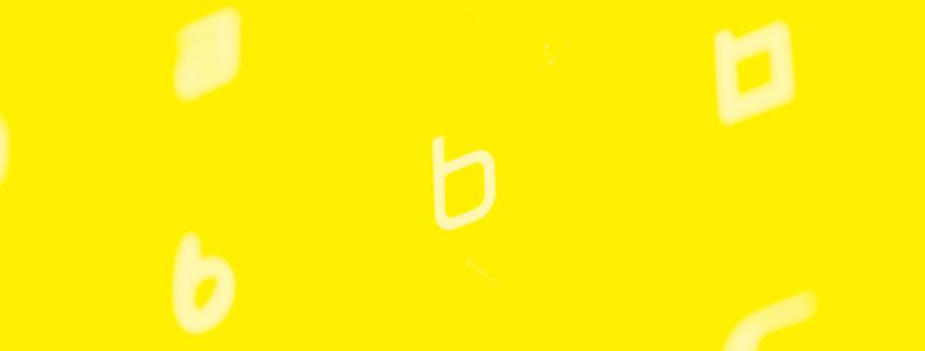 Billede af bogstaverne a, b og c