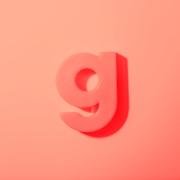 Fotografi af bogstavet g