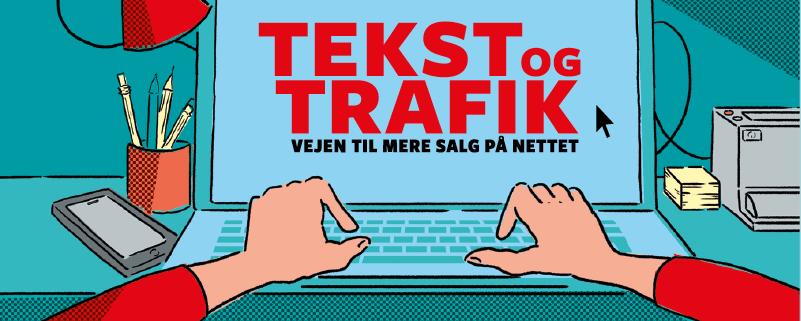 Bogforside af Tekst og trafik - vejen til mere salg på nettet