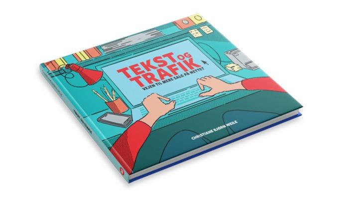"""Foto af bogen """"Tekst og trafik - vejen til mere salg på nettet"""""""